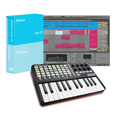 Ableton Live 10 Standard With Akai APC Key 25 Bundle (NEW) • 344.68£