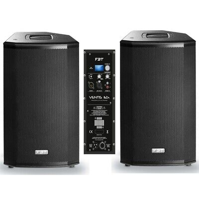 FBT VENTIS 112A 3600w Total Peak Active DSP PA Speaker System Pair • 2,167.08£