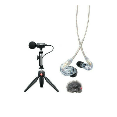 Shure Portable Videography Kit - MV88+SE215 • 299£