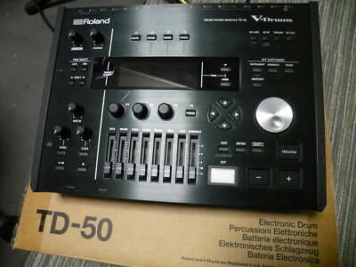 F/S Used Roland TD-50 V-Drum Electronic Drum Brain Module From Japan YSRL71 • 1,839.27£