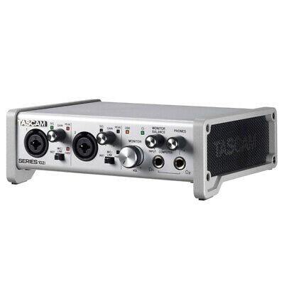 Tascam Series 102i 10 In/2 Out USB Audio/MIDI Interface (NEW) • 254.63£