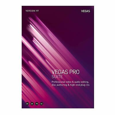 NEW Magix Sony Vegas Pro Suite 17 Video Editing Commercial PC • 536.55£