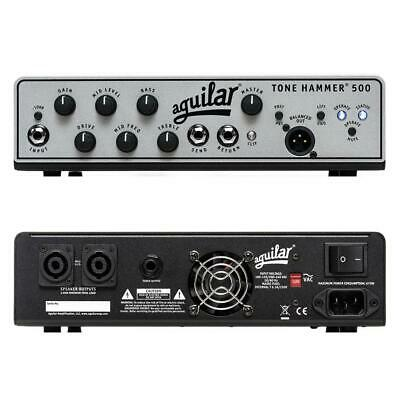 Aguilar Tone Hammer 500 Super Light Bass Amplifier Head 500 Watts • 606.28£