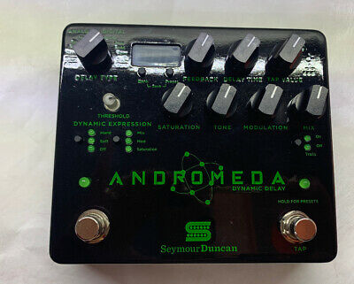 USEDPEDALS 18v AC Power Supply Mod for Seymour Duncan Andromeda Dynamic Delay