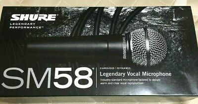 SHURE SM58-LCE Dynamic Microphone No Switch Version NEW Sh • 98.92£