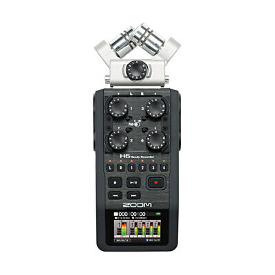 Zoom H6 6 Track Portable Recorder (NEW) • 336.73£
