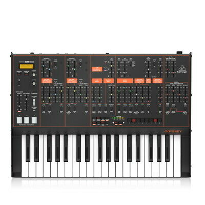 Behringer ODYSSEY 37-key Duophonic Analog Synthesizer With Dual VCOs, New! • 353.09£