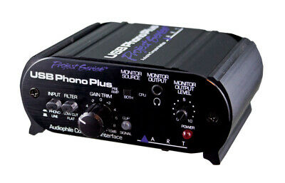 ART USB Phono Plus PS Preamp And Audio Interface (NEW) • 85.17£