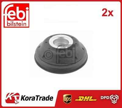 2x 28405 FEBI BILSTEIN FRONT AND SHOCK ABSORBER TOP MOUNT CUSHION SET • 55£