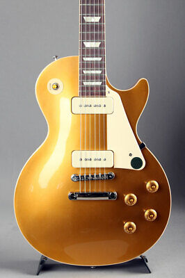 New GibsonUSA  E-Guitar Les Paul Standard '50s P-90 Vintage Gold Top From Japan • 2,072.71£