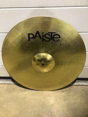 "Paiste 101 Ride Cymbal 20"" Cymbal Drum Accessory • 28£"