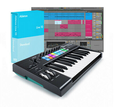 Ableton Live 10 Standard With Launchkey 25 V2 Bundle (NEW) • 397.87£