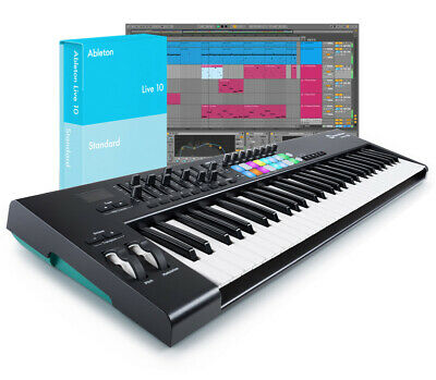 Ableton Live 10 Standard With Launchkey 61 V2 Bundle (NEW) • 472£