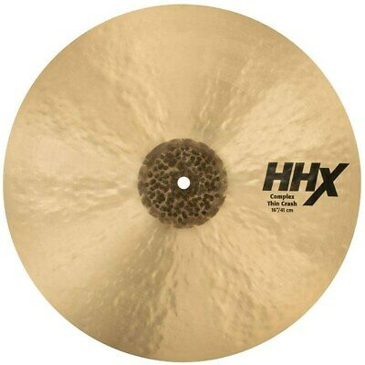 "Sabian 11606XCN 16"" HHX Complex Thin Crash Drum Set Drum Kit Cymbal • 220.44£"