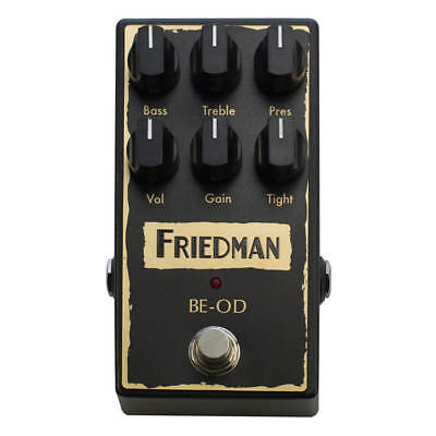 Friedman BE-OD Overdrive Pedal • 196£