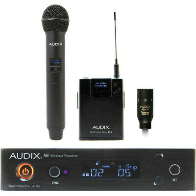 Audix AP61 OM2 L10 Wireless Microphone System OM2 And Bodypack • 776.01£