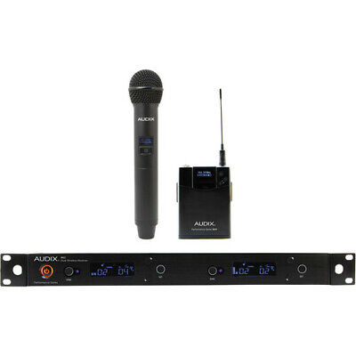 Audix AP62 C2BP OM2 Bodypack And Lavaliere Wireless Microphone System • 970.21£