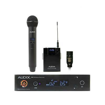 Audix AP41 OM2 Handheld Wireless With L10 Lavalier • 605.12£