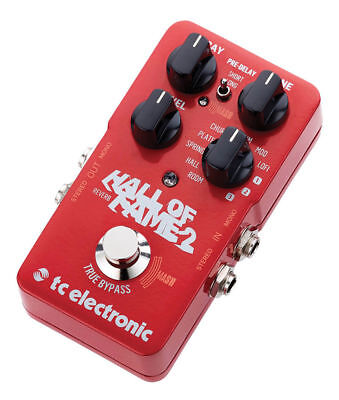 TC Electronic Hall Of Fame 2 - Reverb Pedal [HOF2] Guitar Electric Acoustic  • 149£