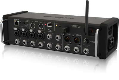 Midas MR12 12-Input Digital Mixer For IPad/Android Tablets W/ Wi-Fi And USB NEW. • 443.13£