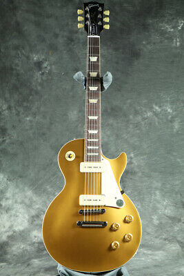 New Gibson USA Les Paul Standard 50s P-90 Gold Top Guitar From Japan • 1,902.51£