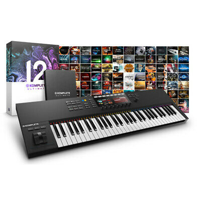 Native Instruments Komplete 12 Ultimate And S61mk2 Controller Bundle (NEW) • 1,349£