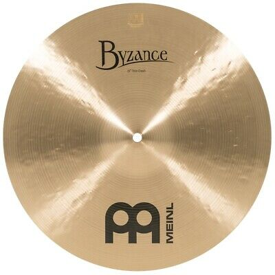 Meinl Byzance Traditional Thin Crash Cymbal 15 - Video Demo • 191.35£