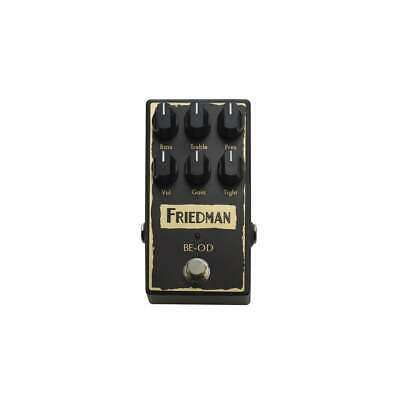 Friedman BE-OD Boutique Overdrive Pedal - New! • 199£