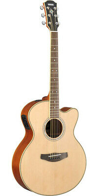 New Yamaha CPX700 II NT Natural CPX-700 CPX700II Acoustic Guitar From Japan • 541.32£