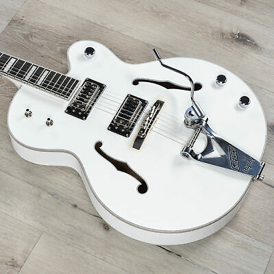Gretsch G7593T Billy Duffy Signature Falcon Hollow Body Electric Guitar White • 2,739.20£