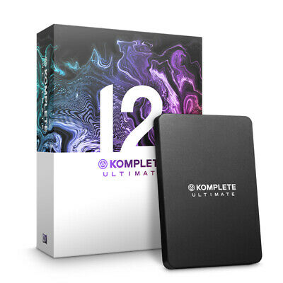 Native Instruments Komplete 12 Ultimate UPGRADE From Komplete 8-12 (NEW) • 489£