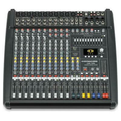 Dynacord CMS 1000-3 10-Channel Compact Analogue Mixer With Twin DSP FX • 1,299£