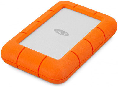LaCie 4 TB Rugged Mini USB 3.0 Portable 2.5 Inch Shock, Drop And Crush Resistant • 192.12£