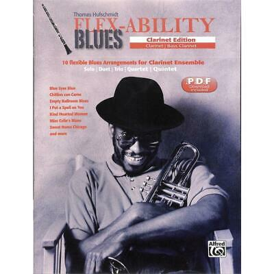 Flex-Ability BLUES - Clarinet Edition - 10 Flexible Blues-Arrangements • 13.39£