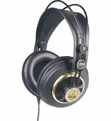 Professional Studio Headphones Semi-Open Over-Ear Black AKG Wide Dynamic Range • 48£