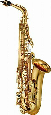 Yamaha YAS-480 Intermediate Eb Alto Saxophone Gold Finish Expedited Shipping • 1,573.96£