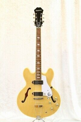 Epiphone Casino Nat Under Loan Special Interest Rate Off • 966.63£