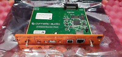 Cymatic U-Track X32 Recording Interface For Behringer X32 • 149£