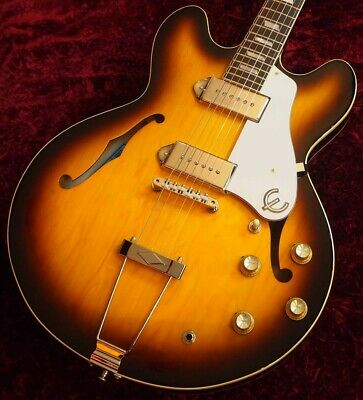 Epiphone Ltd Ed Elitist 1965 Casino Vintage Outfit Sunburst Sn T00994 2 70 Made • 2,419.27£