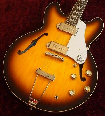 Epiphone Ltd Ed Elitist 1965 Casino Vintage Outfit Sunburst Sn T00995 2 69 Made • 2,419.27£
