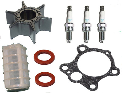 Impeller Gasket Plugs Filter SERVICE PARTS KIT 40HP 50HP YAMAHA 2Stroke Outboard • 37.50£