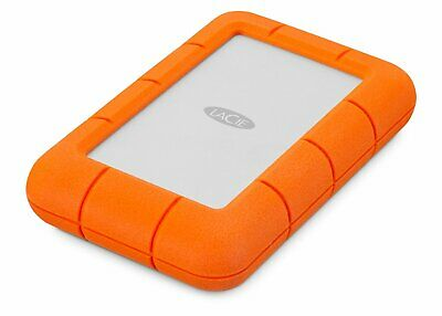 LaCie 4 TB Rugged Mini USB 3.0 Portable 2.5 Inch Shock, Drop And Crush Resistant • 196.99£