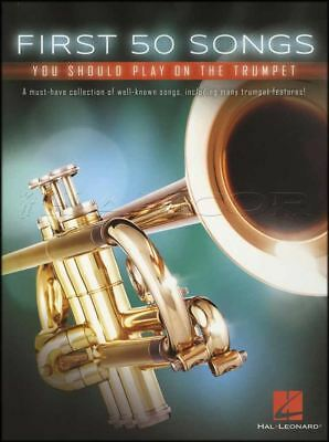 First 50 Songs You Should Play On The Trumpet Sheet Music Book Classical Jazz