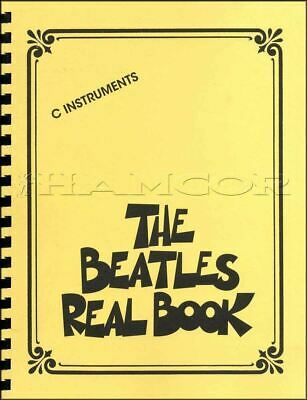 The Beatles Real Book for C Instruments Sheet Music Book SAME DAY DISPATCH