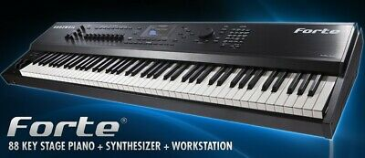 Kurzweil Forte 88-Weighted-Key Stage Piano - NEW (Not The Cheaper SE Version) • 3,639.57£