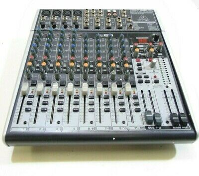 Behringer XENYX X1622USB 12 Channel Analog Mixer-DAMAGED-RRP £178 • 120£
