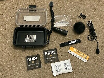 Rode Lavalier Microphone With MiCon-5 XLR Adapter - Set 2 • 90£