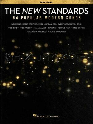 The New Standards Easy Piano Popular Modern Songs Music Book SAME DAY DISPATCH