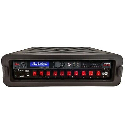DBX DriveRack PA2 Loudspeaker Management W/ ProX Case & ProX Power Conditioner • 365.95£