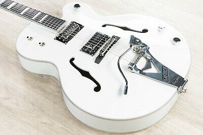 Gretsch G7593T Billy Duffy Signature Falcon Hollow Body Electric Guitar White • 2,130.49£